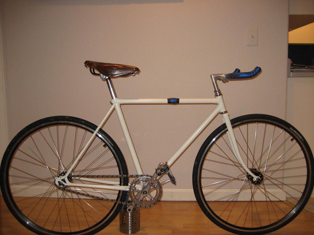 That is one classy bike.