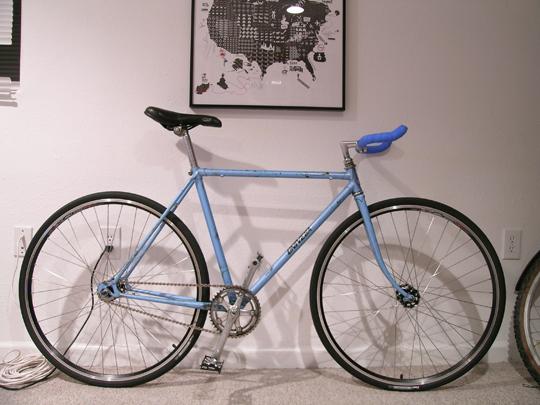 That is one dirty bike.